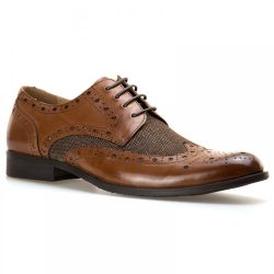 Paolo Vandini Naughton Tweed & Leather Shoes
