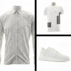 white clothing