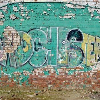 Madchester Graffiti in Salford by Mike Colvin CC BY 2.0