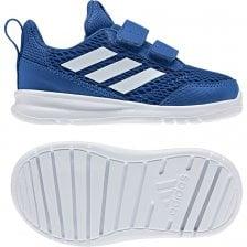 74355538f1c ADIDAS Infants Alta Run CF Trainers (Blue)