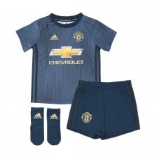 Adidas Infants Manchester United 2018/2019 Baby Third Kit (18M-6Y) (Navy)