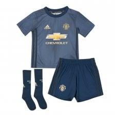 Adidas Infants Manchester United 2018/2019 Mini Third Kit (18M-6Y) (Navy)