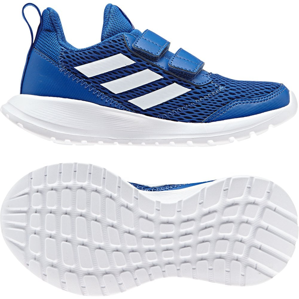 84614bed4e3f ADIDAS Juniors Alta Run CF Trainers (Blue) - Kids from Loofes UK