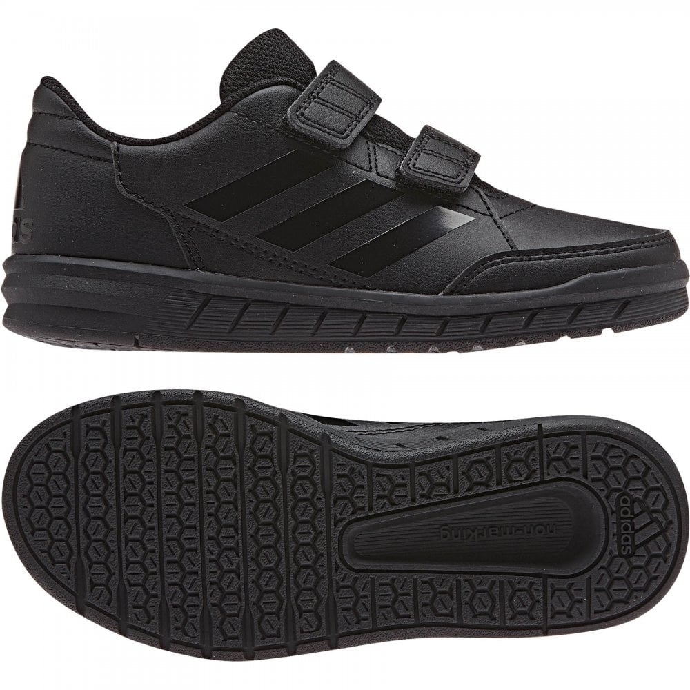reputable site 4d167 d3daa ADIDAS Juniors Alta Sport CF K Trainers (Black)