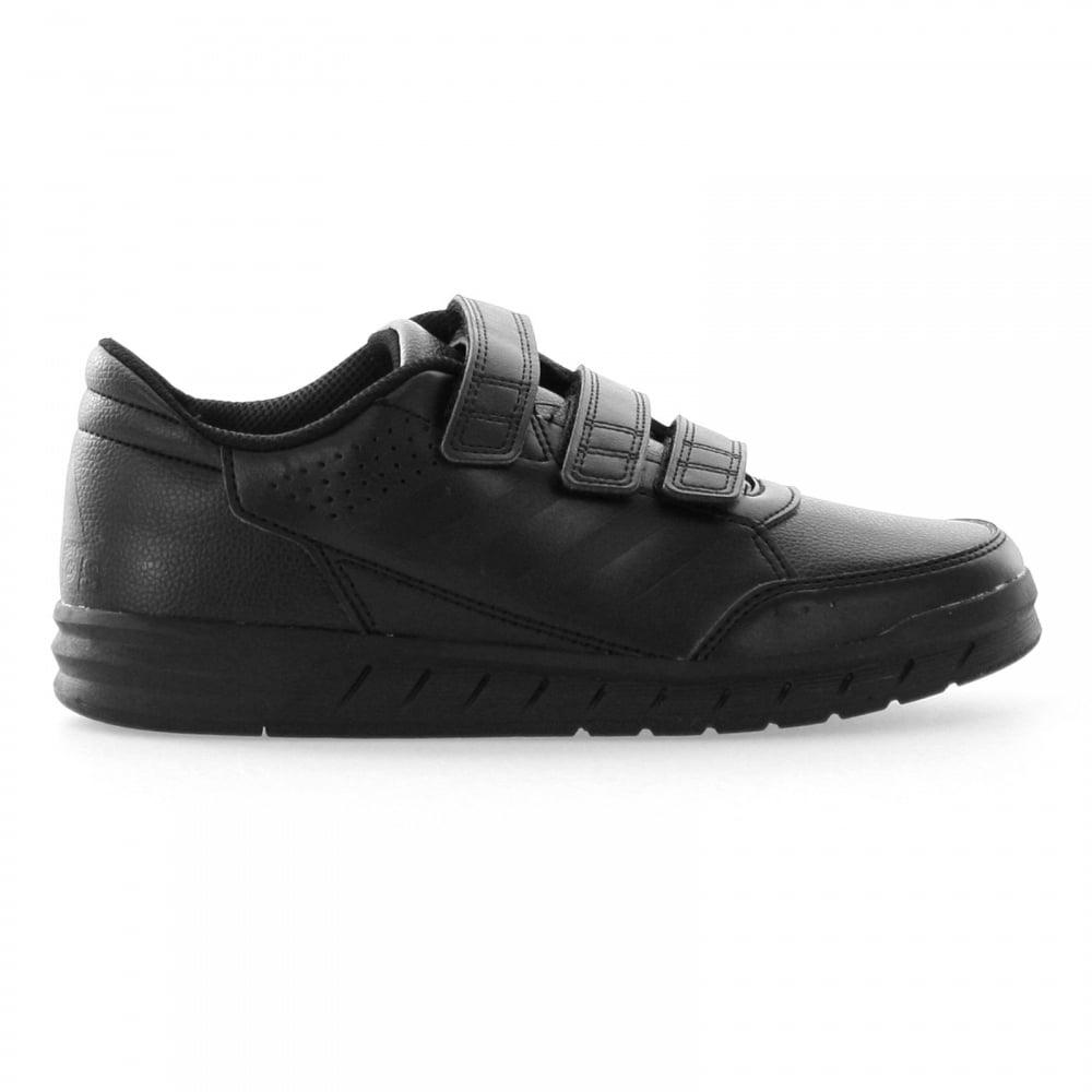 e4e08c5a87a7 ADIDAS Juniors Alta Sport Velcro Trainers (Black) - Kids from Loofes UK