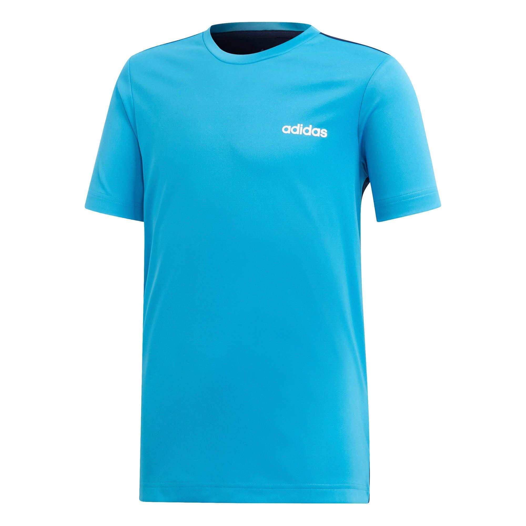 ADIDAS ADIDAS Juniors Linear TR T Shirt (Blue Navy)