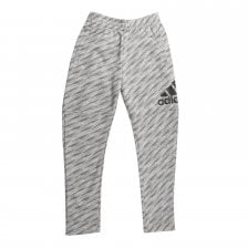 Adidas Juniors Logo Pants (Grey)