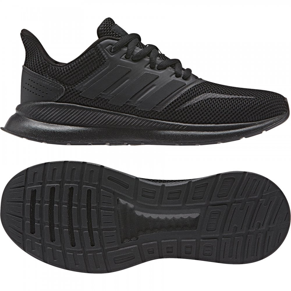 e055b0e7dc237 ADIDAS Juniors Run Falcon Trainers (Black) - Kids from Loofes UK