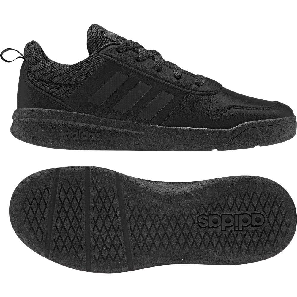 black adidas velcro trainers kids