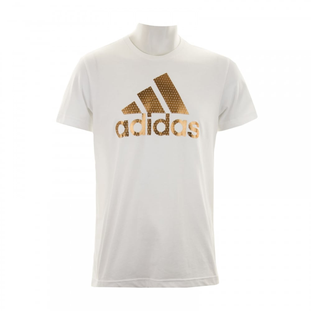 adidas t shirt gold