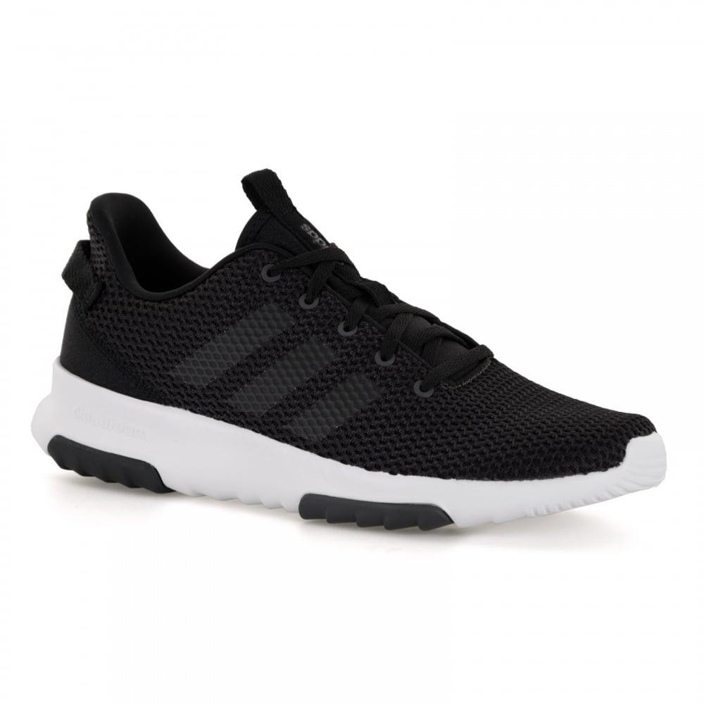 adidas mens black trainers