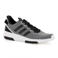 Adidas Mens CF Racer TR Trainers (White/Black)