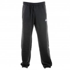Adidas Mens Essential Fleece Sweat Pants (Black/White)