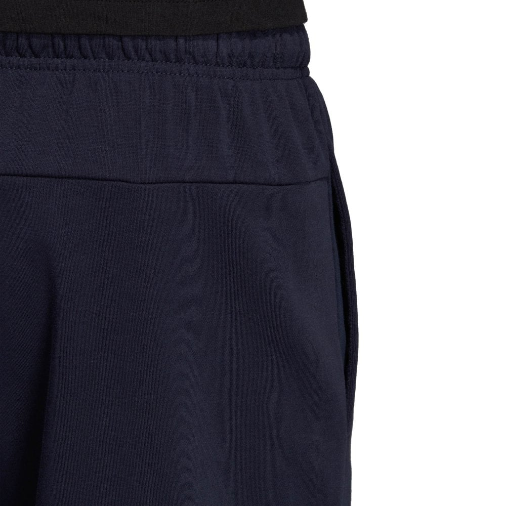 Mens Essentials Plain French Terry Shorts (Navy)
