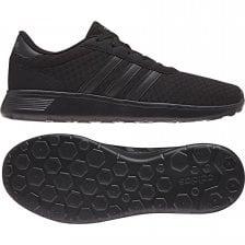 1d060b6b970 ADIDAS Mens Lite Racer Trainers (Black)