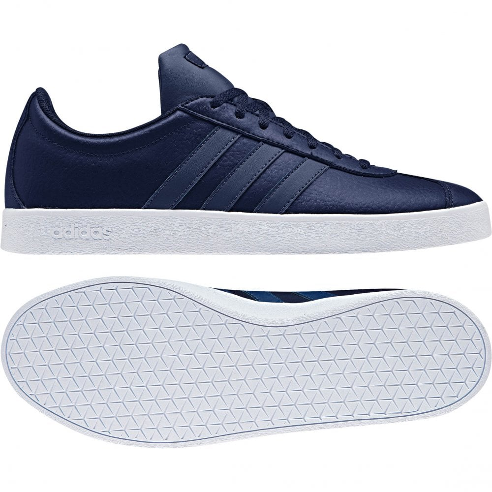 ADIDAS Mens VL Court 2.0 Trainers (Navy) - Mens from Loofes UK 1a2815c19
