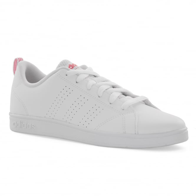 2a176fdbc00 ADIDAS Adidas Neo Juniors Advantage 317 Trainers (White Pink) - Kids ...