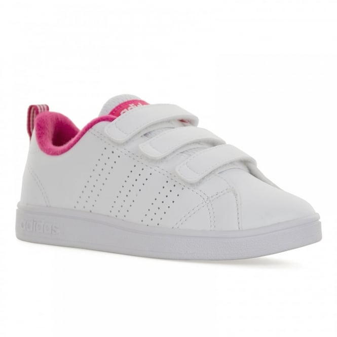 online store 43168 1e4b3 adidas performance neo juniors advantage clean 116 trainers white kids from  loofes u.