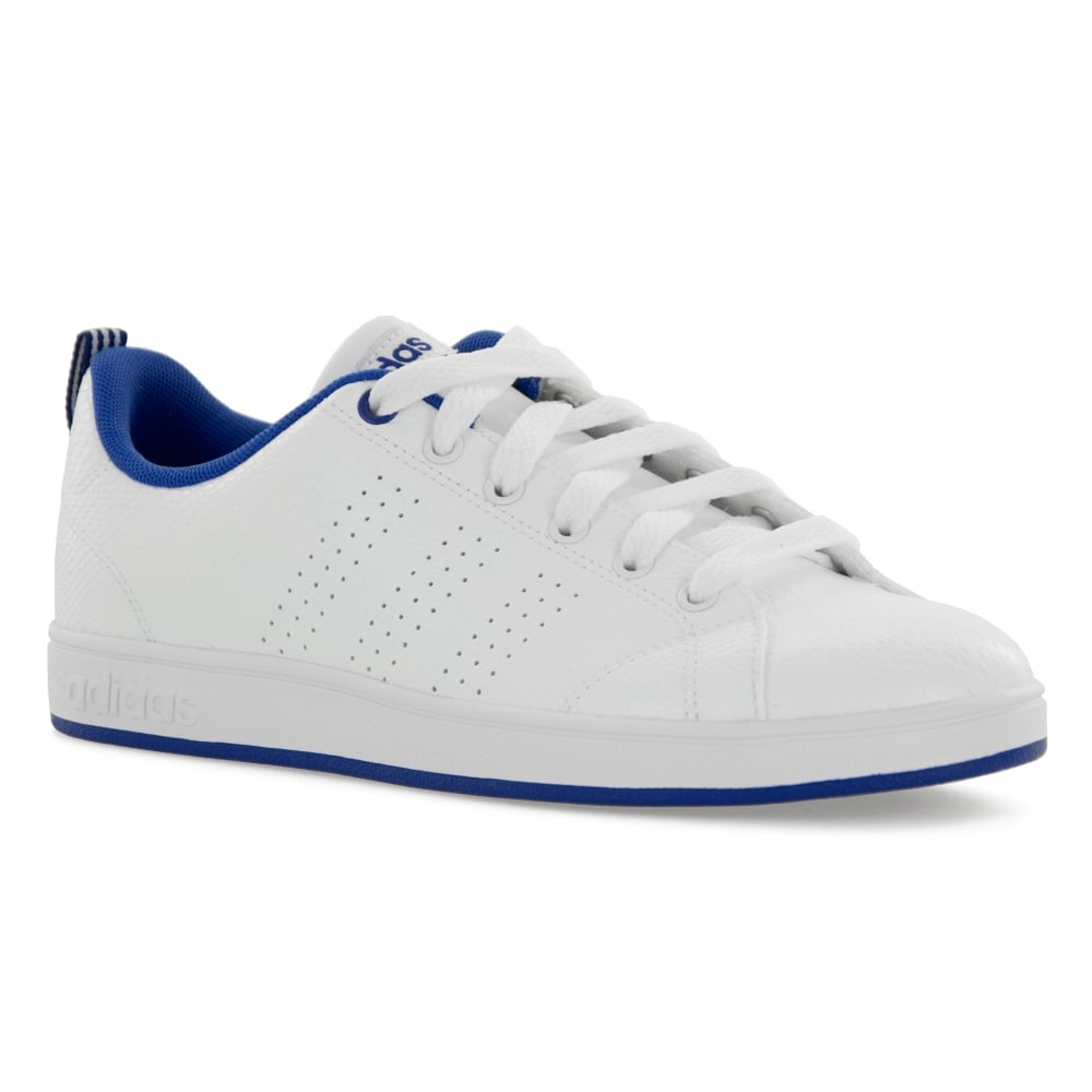wholesale dealer 0d9ed 68d5e ... reduced adidas neo juniors advantage clean 417 trainers whiteblue 36451  3ebcf