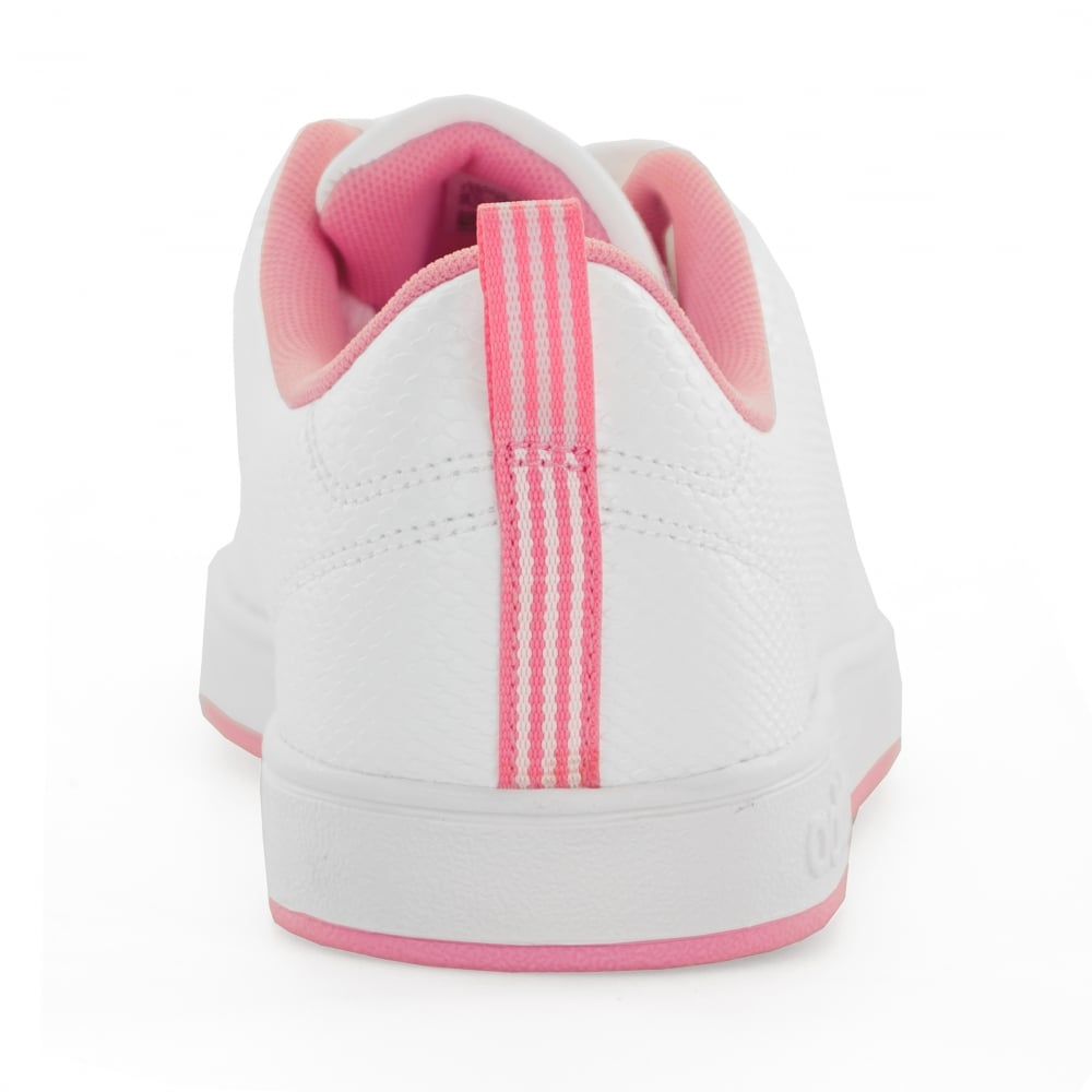 1c1ab4790d9 ... clearance adidas neo juniors advantage clean 417 trainers white pink  924ef 587b7