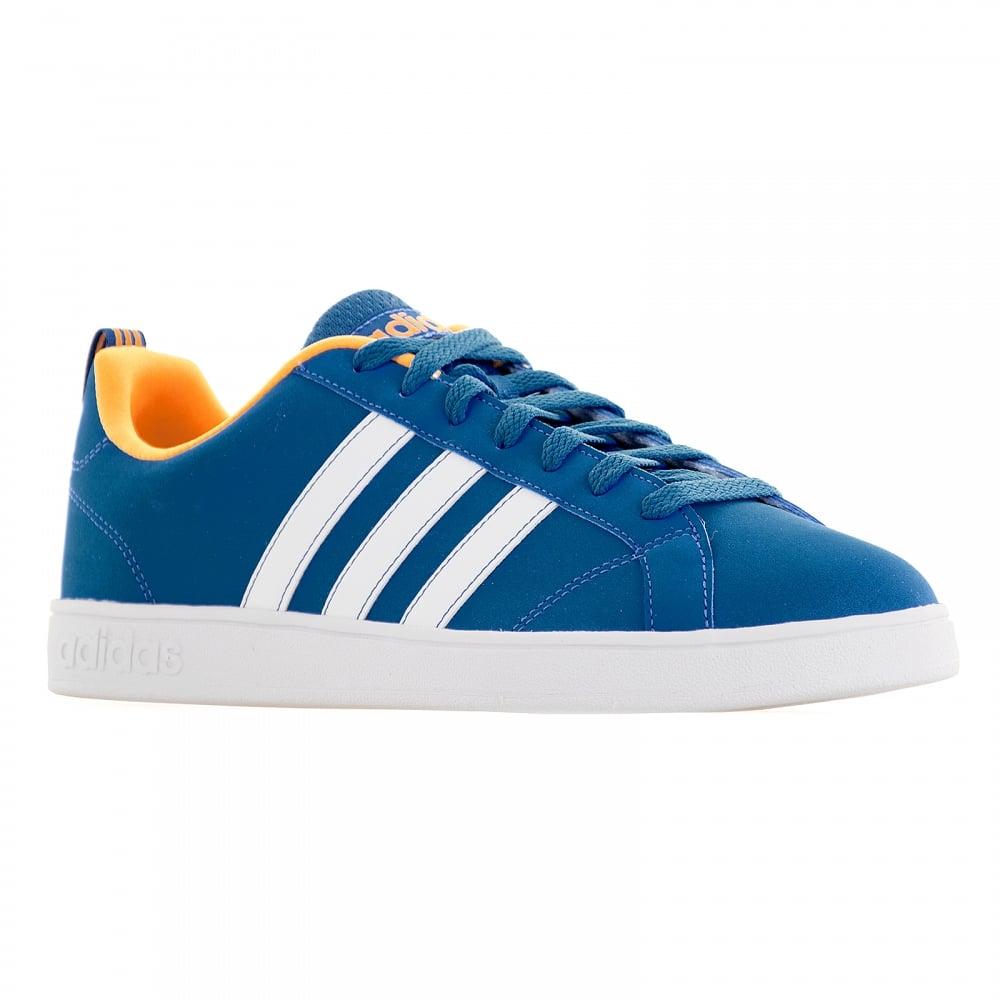 huge discount e2dc0 97159 ... Adidas Neo Juniors Advantage Trainers (Blue White Solar Gold) ...
