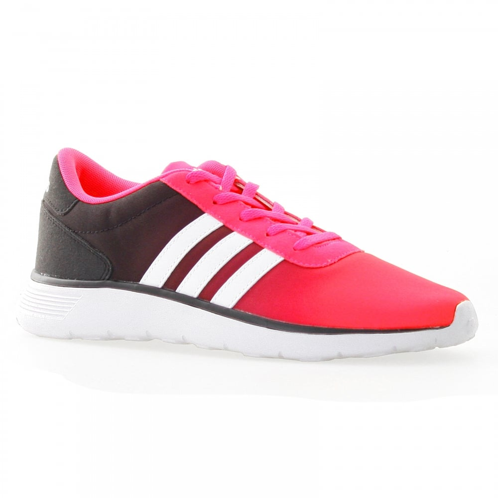 timeless design e43b1 2d7eb ... Skate Shoes - Core BlackBurgundyWhite Adidas Neo Juniors Lite Racer 117  Trainers (PinkWhiteBlack) ...