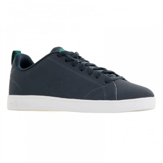 Adidas Neo Mens Advantage Clean 116 Trainers (Navy/Green)
