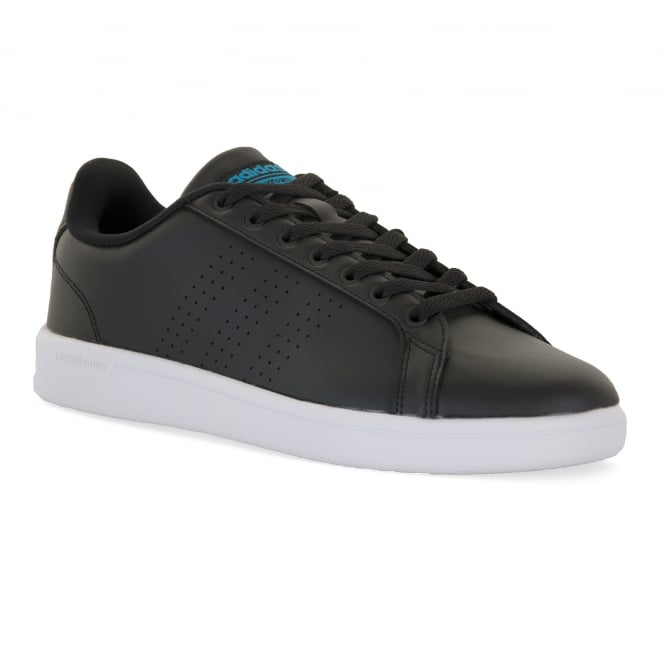 Adidas Neo Mens Advantage Clean Trainers (Black)