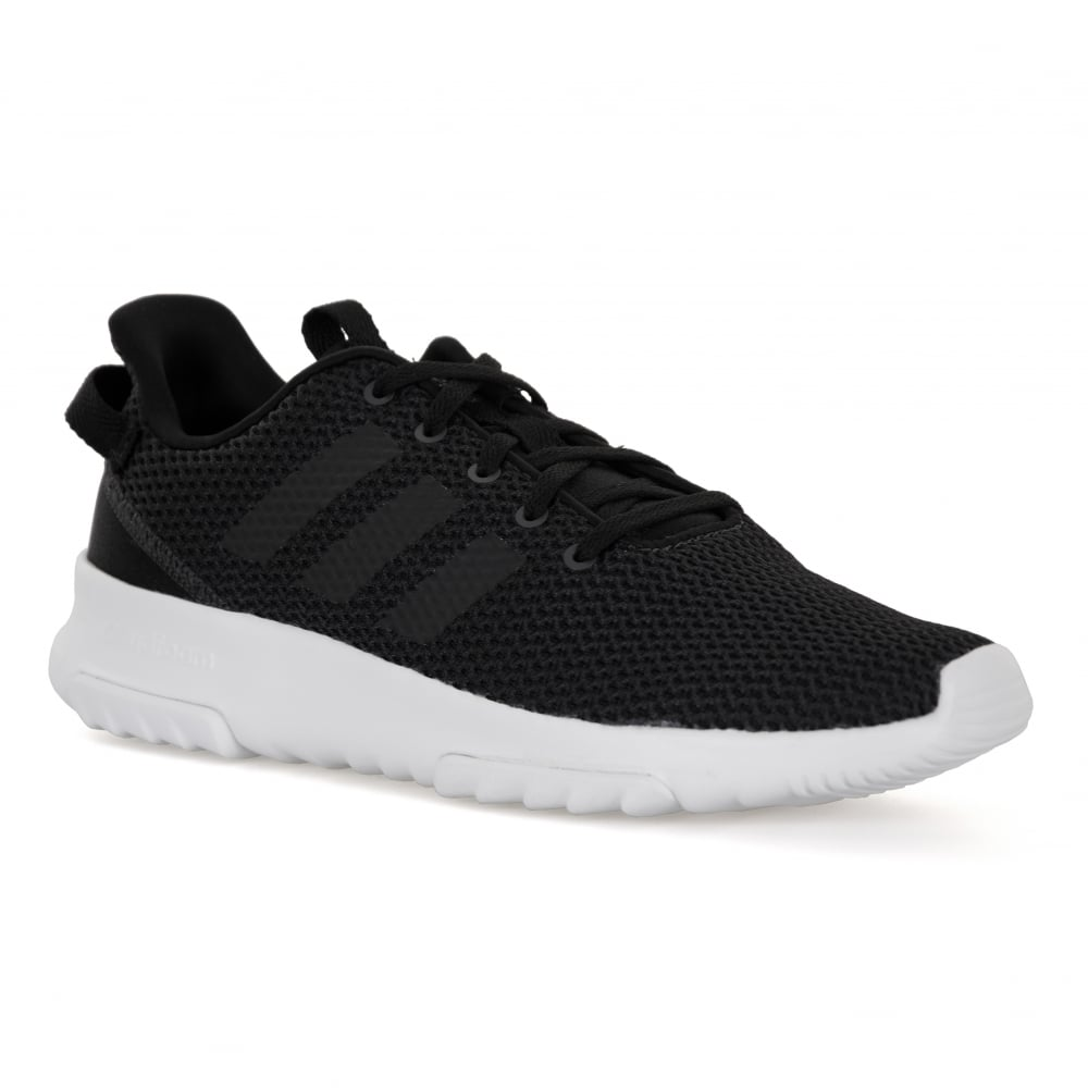 adidas neo mens cf racer tr trainers black mens from loofes uk