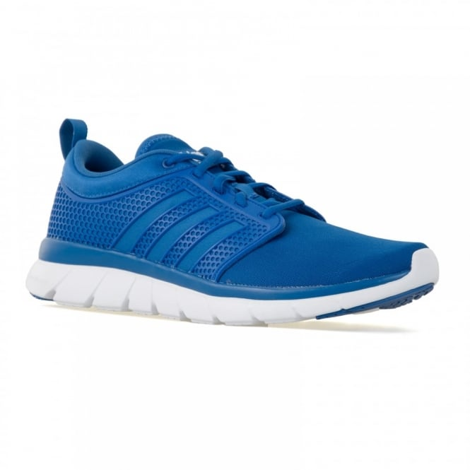 Adidas Neo Mens Cloudfoam Groove 216 Trainers (Blue/White)