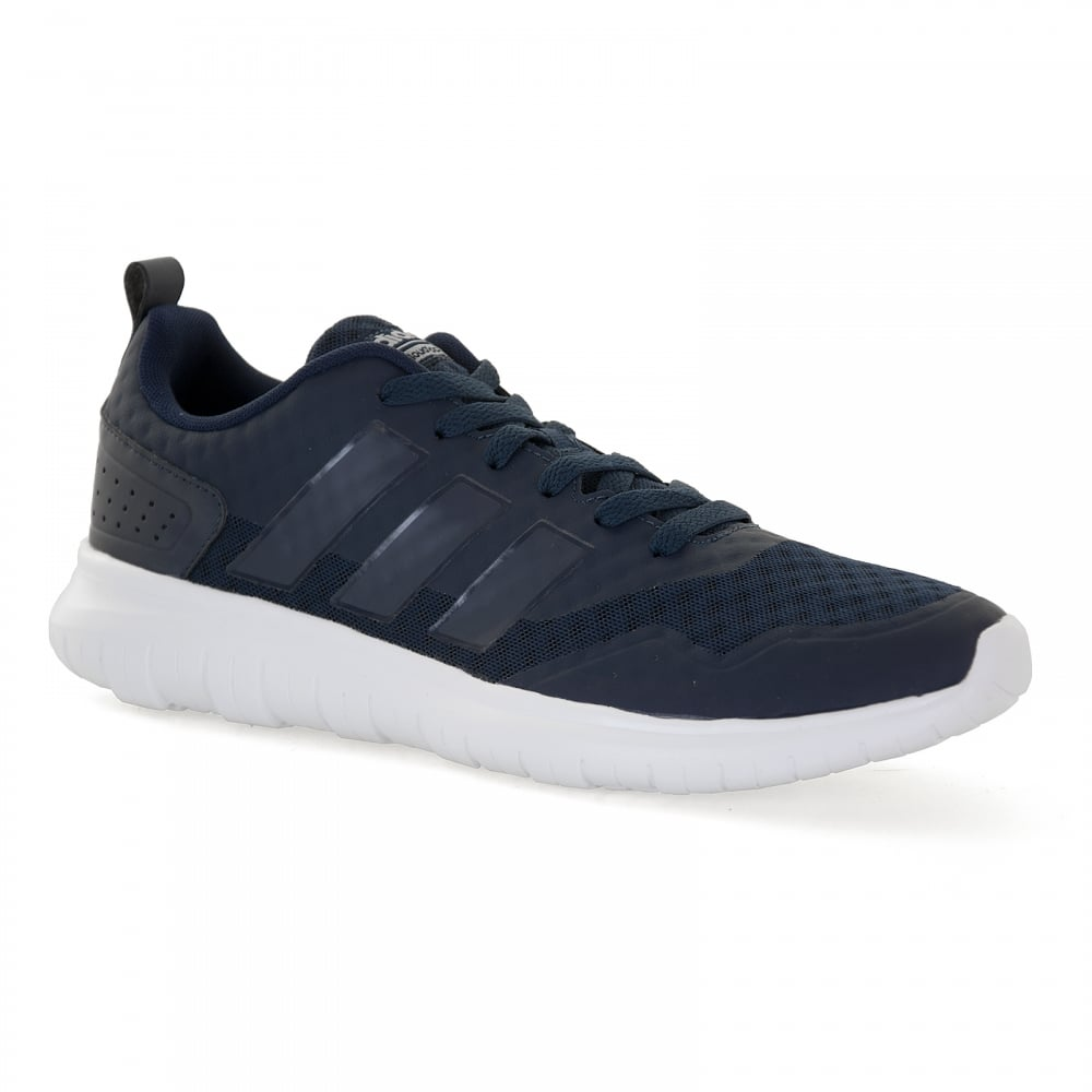 adidas neo mens cloudfoam black