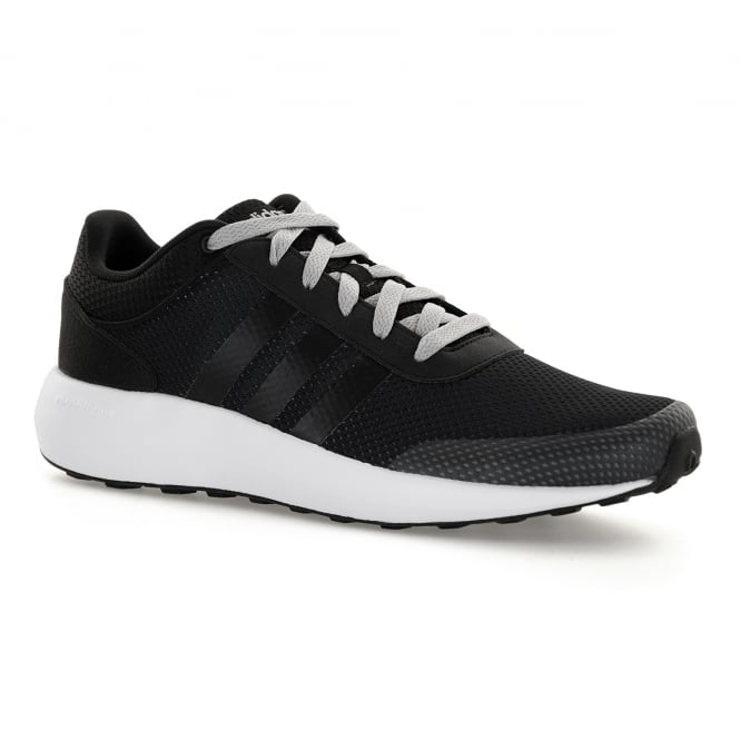 Adidas Neo Mens Cloudfoam Race 117 Trainers (Black)