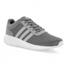 Adidas Neo Mens Cloudfoam Race 117 Trainers (Grey)