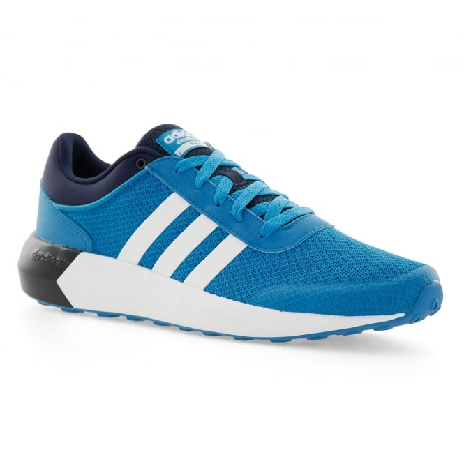 quality design d017f 1f623 adidas neo mens cloudfoam race 316 trainers blue white navy from loofes uk