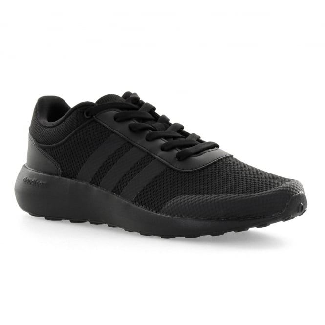 Adidas Neo Mens Cloudfoam Race 416 Trainers (Black)