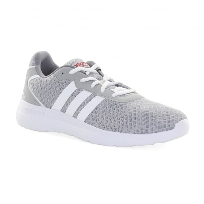 Adidas Neo Mens Cloudfoam Speed Trainers (Grey)