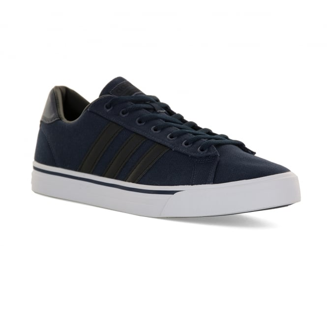 Adidas Neo Mens Cloudfoam Super Daily 117 Trainers (Navy)