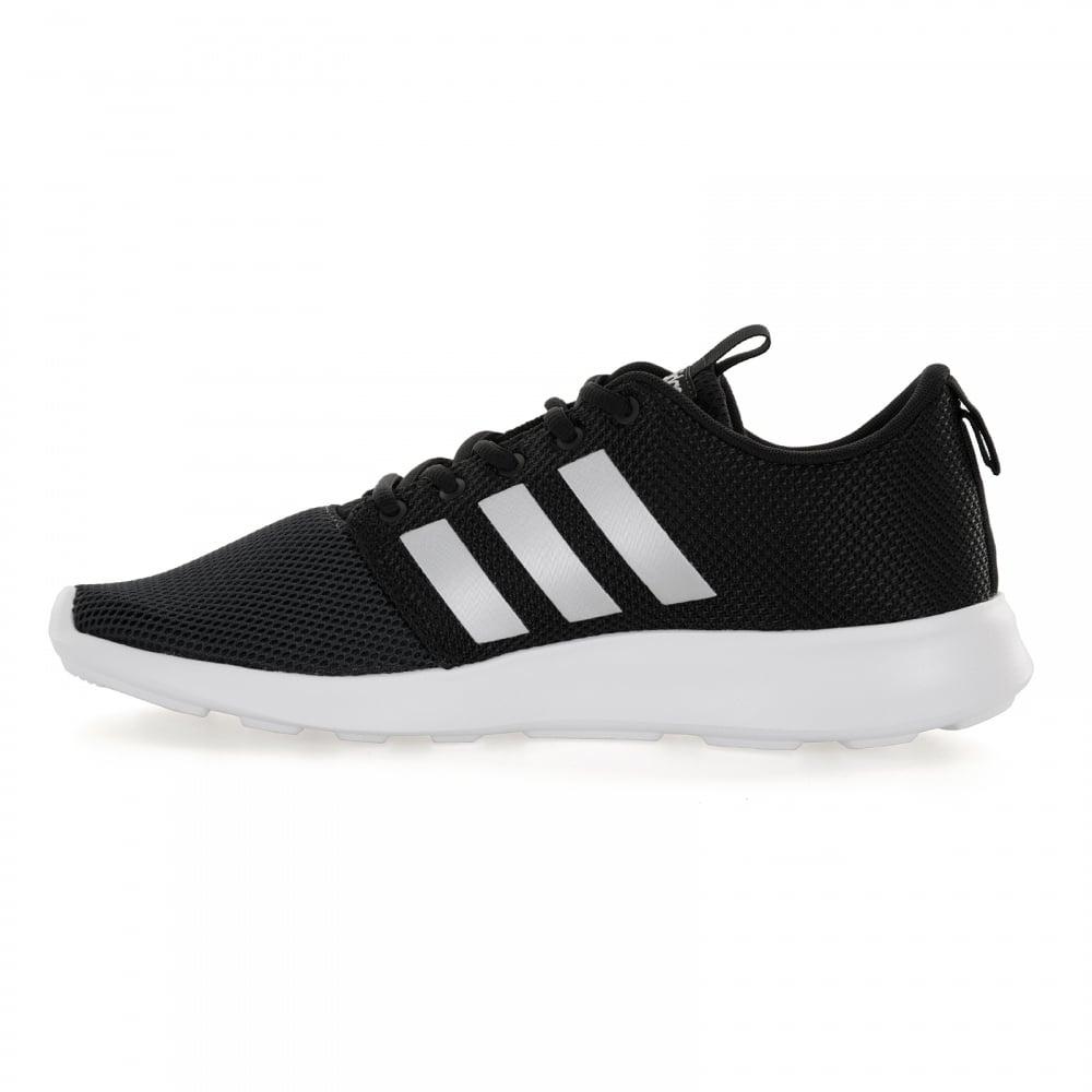 adidas cloudfoam trainers men black