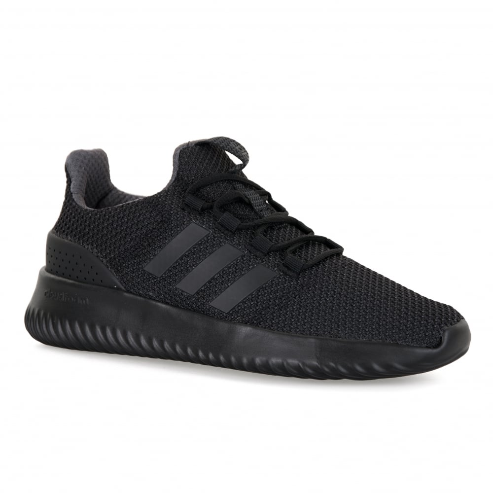 adidas neo black trainers