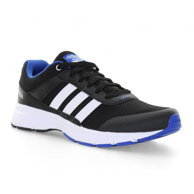 Adidas Neo Mens Cloudfoam VS City 416 Trainers (Black/White/Blue)