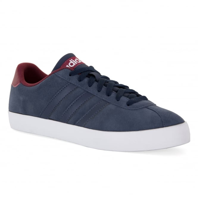 Adidas Neo Mens Court Vulc 317 Trainers (Navy)