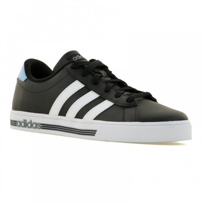 Adidas Neo Mens Daily Team 116 Trainers (Black/White/Blue/Grey)