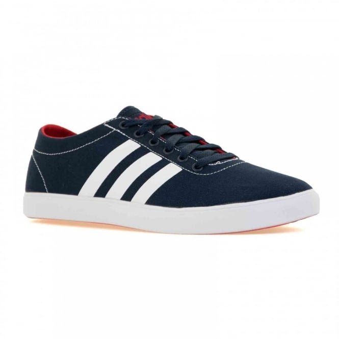 Adidas Performance Adidas Neo Mens Easy Vulc 216 Trainers (Core Navy/White/Powder Red)