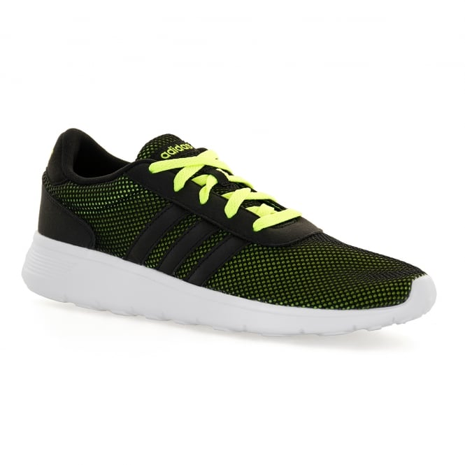 Adidas Neo Mens Lite Racer 316 Trainers (Black/Yellow)