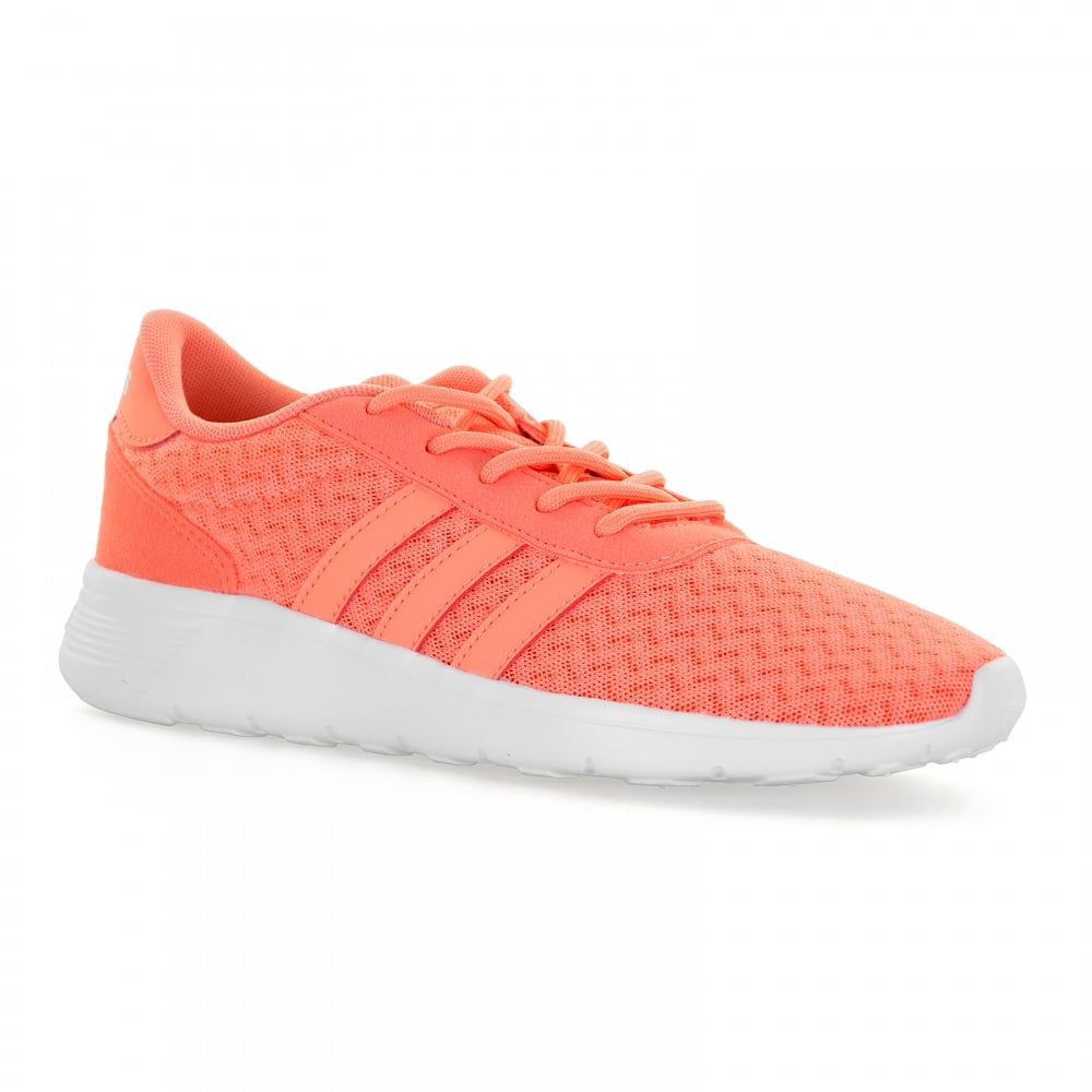 timeless design 4b94f eb57d ... Adidas Neo Womens Lite Racer 117 Trainers (Orange) ...