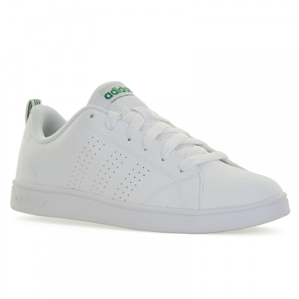 Adidas Neo Youths Advantage Clean 116 Trainers White Kids From Full Original