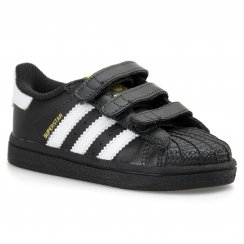 Adidas Originals Infants Superstar Foundation Trainer (Core Black/White)