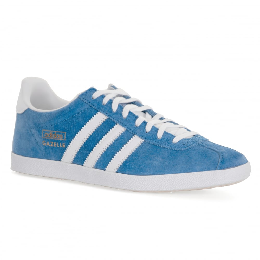 adidas originals mens gazelle og trainers blue mens. Black Bedroom Furniture Sets. Home Design Ideas