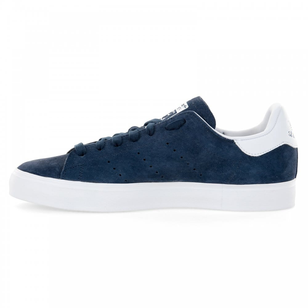 adidas originals stan smith vulc navy/white