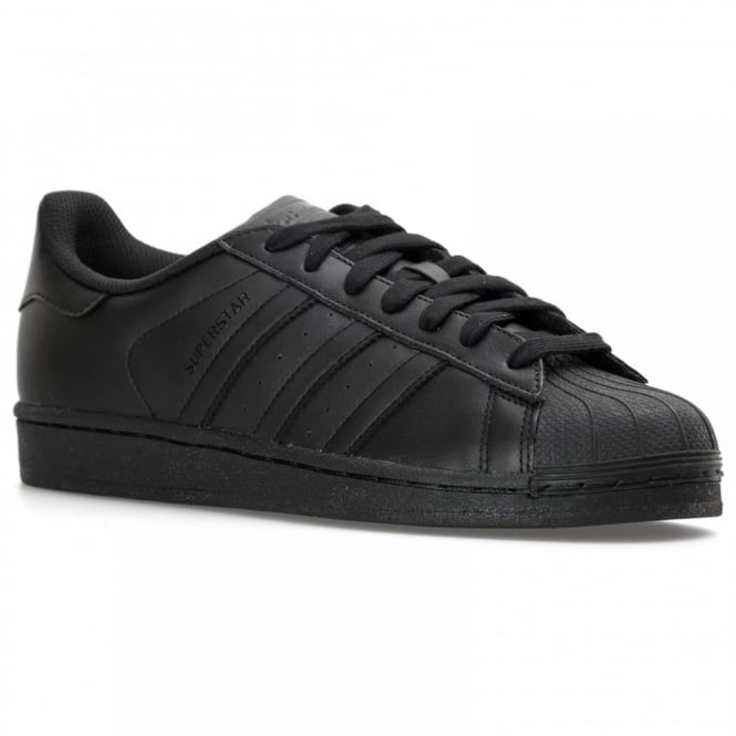 Adidas Originals Mens Superstar Foundation Trainers (Black)